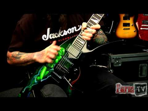 Chris Cannella Talks About the Jackson Roswell Star Custom Shop Guitar | Farm TV Demo