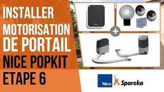 Comment installer sa motorisation de portail Nice Popkit ? Etape 6 : le raccordement des cellules