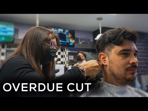 An Overdue Cut | New York Barbers