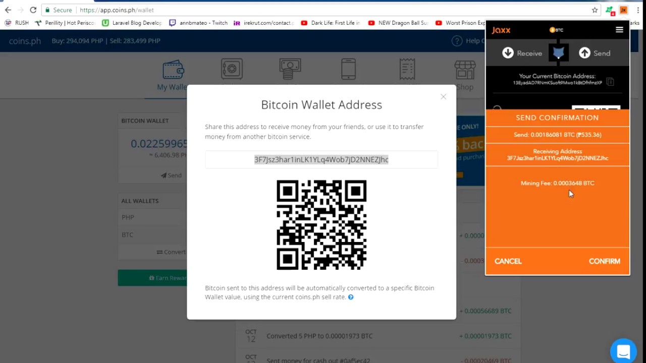 How to transfer bitcoins from jaxx to coins youtube how to transfer bitcoins from jaxx to coins ccuart Choice Image