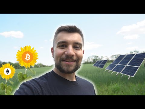 We Bought 100 ACRES to Build a BITCOIN MINING FARM powered by SOLAR PANELS