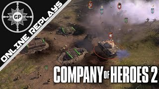 Why taking the Forest is BETTER than City! - Company of Heroes 2 Online Replays #323