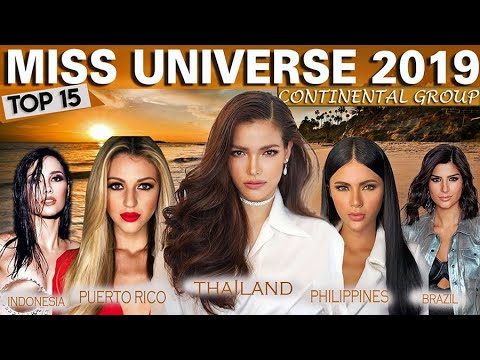 Top 15 Strongest Candidates Of Miss Universe 2019