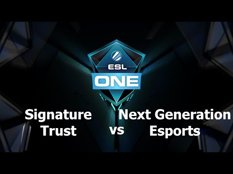NGE vs Trust Game 1 - ESL One Manila SEA - @durkadota @scantzor
