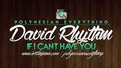 David Rhythm - If I Can't Have You   PolynesianEverything