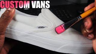 Custom VANS! (SIMPLE) 🏖