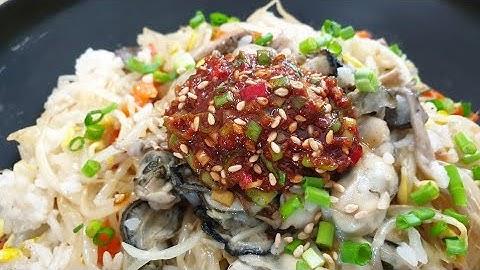 기가막힌 콩나물밥 만드는 법_ 비법양념장과 비벼먹으면 감탄이 절로!!
