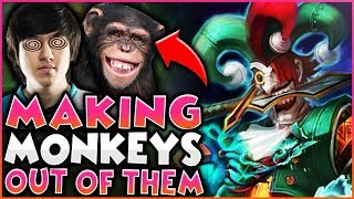 Making Monkeys Out of Them! ft. Rush