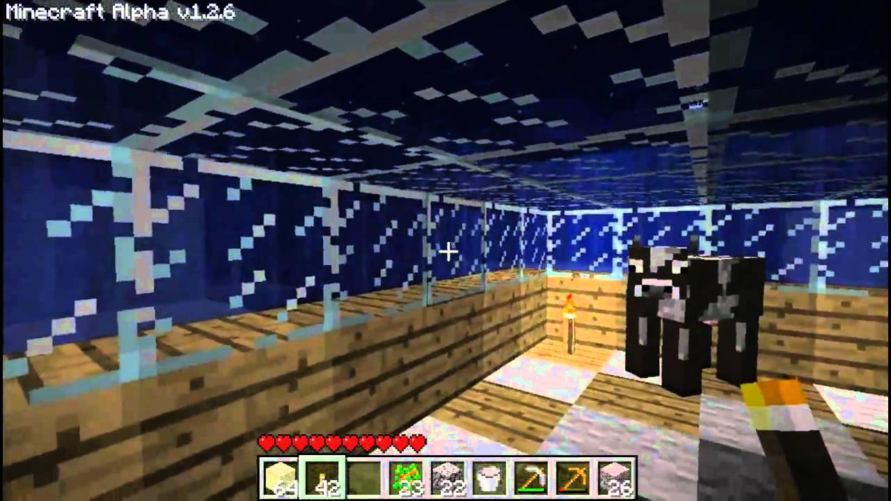 Minecraft Tutorial Unter Wasser Bauen YouTube - Minecraft haus unter wasser bauen