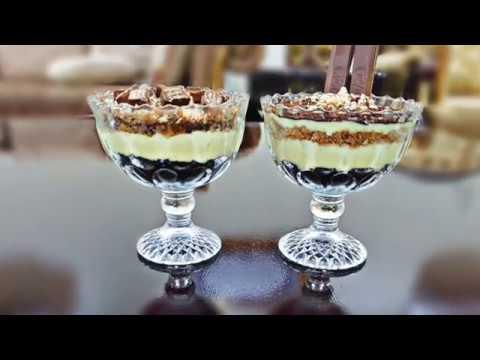 Custard Biscuit Pudding - Dessert recipe