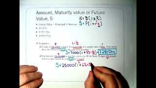 Maturity calculate the How value to