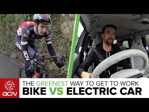 Road Bike Vs. Electric Car: What Is The Greenest Way To Get To Work? | GCN's Eco-Commuter Challenge