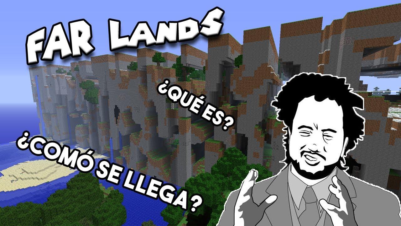😮FAR LANDS (TIERRAS LEJANAS)    ¿son tan misteriosas? ¿cómo visitarlas?