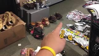 Dicks sporting goods baseball gloves!!