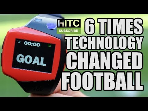 6 Times Technology Changed Football