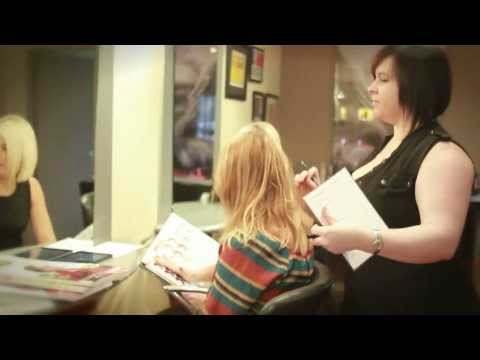 Reds Hairdressing training salon video
