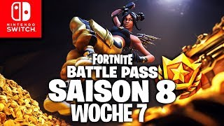 🔴 YouTube has PROBLEMS! GEHEIMER Stern & Battle Pass Week 7 | Fortnite Switch