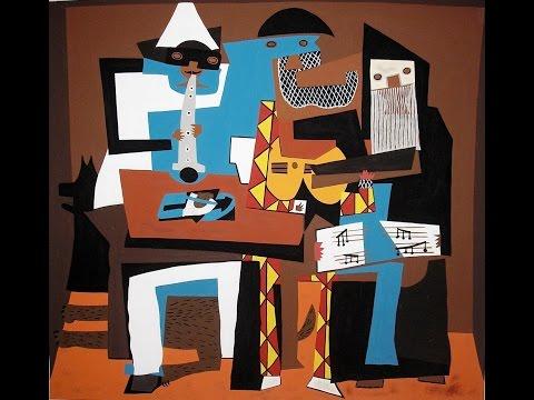 Un colegio de arte: TRES MÚSICOS -P. Picasso- (Ceip el Tejar 2017)