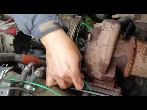 Detroit series 60 How to remove  a turbo /Detroit series 60 como remover  El turbo part 2
