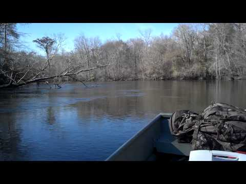 78 Merc 9.8HP on a 12 foot Jon boat on the River