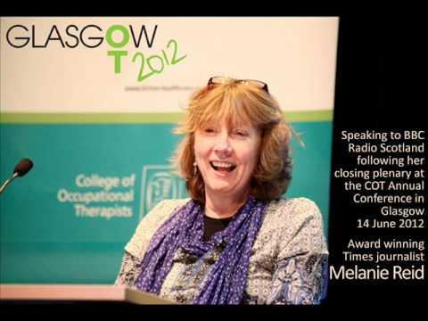BBC Radio Scotland - Melanie Reid Interview