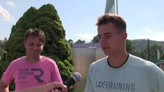 David Škoch a Petr Nouza po prohře v semifinále čtyřhry na turnaji Futures v Ústí n. O.