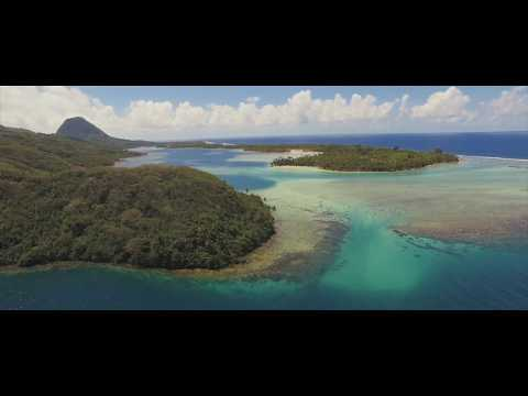 Huahine Drone Footage - French Polynesia [4K]