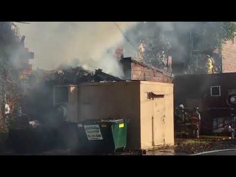 New Bethlehem, Pennsylvania, Business Destroyed After Major Fire