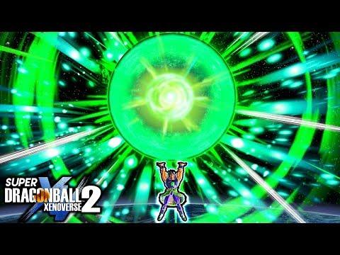 NEW BROLY PLANET CRUSHER! Dragon Ball Xenoverse 2 Movie Broly Gigantic Crusher Skill Gameplay