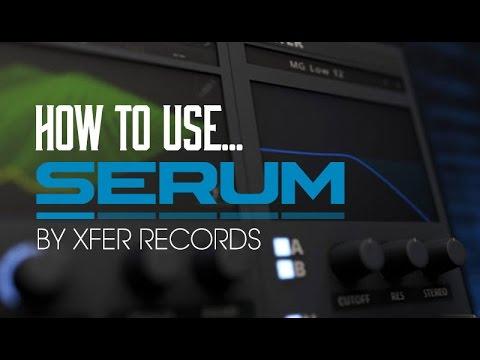 Using Xfer Records 'Serum