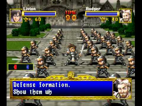 Dragon Force Sega Saturno game