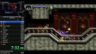 Castlevania: Symphony of the Night, All Bosses speedrun in 31:51
