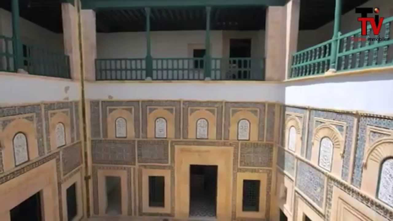 Architecture traditionnelle tunisienne youtube for Architecture maison arabe