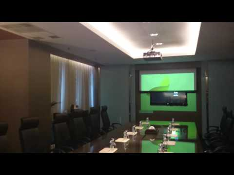 Crestron - SMART MEETING ROOM - Preset Presentasi