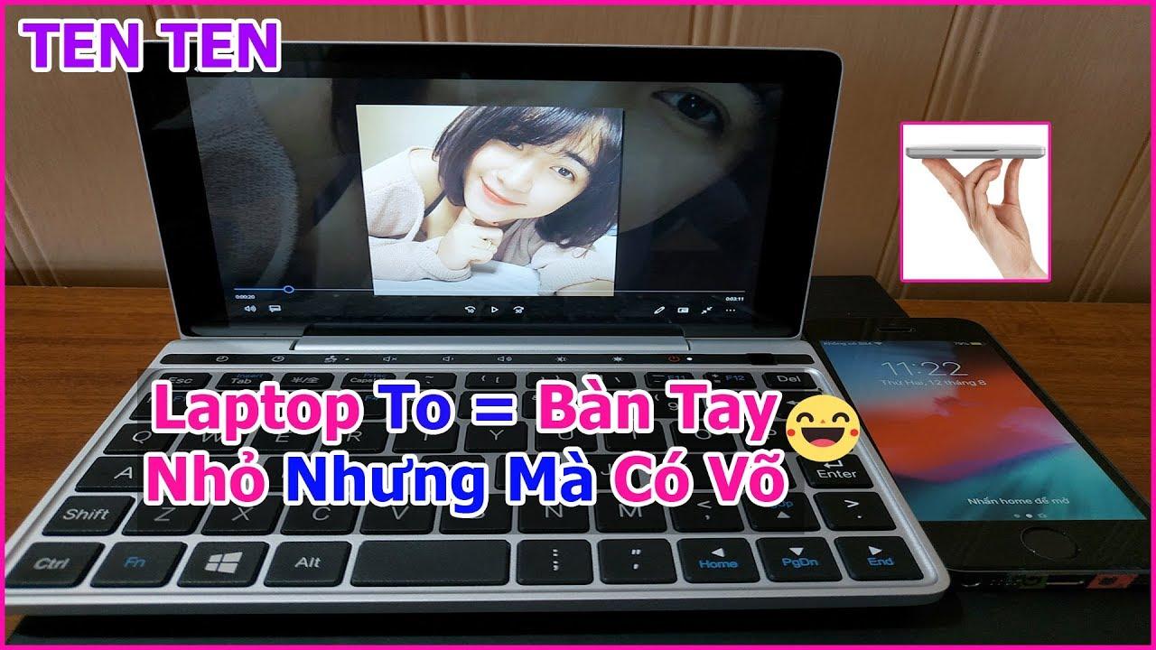 Test Laptop Mini Bỏ Túi 7 inch GPD Pocket 2 Xem Khả Năng Tốc Độ Render Video