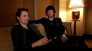 Matthew Bellamy de Muse : «Johnny Hallyday est mon super voisin»