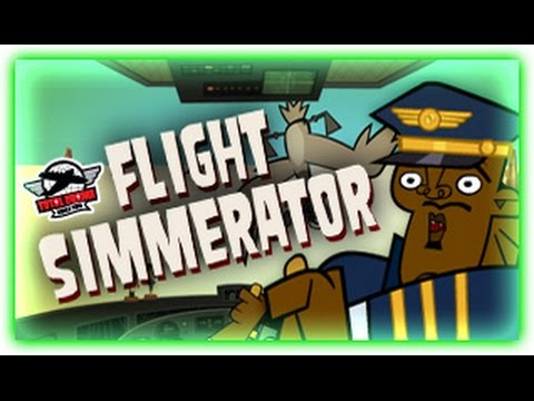 TOTAL DRAMA WORLD TOUR GAMES | FLIGHT SIMMERATOR | CARTOON NETWORK