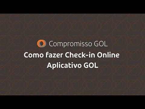 Compromisso GOL | Como fazer Check-in Online | Aplicativo GOL