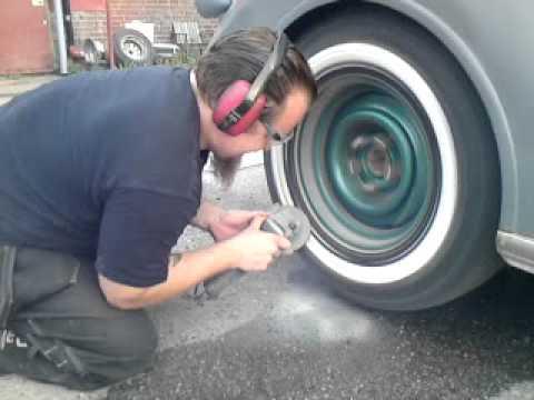 How To Whitewall Tyres Koosa Whitewall Machine 25mm Buf