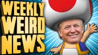 Nintendo's Toad Ruined Forever - Weekly Weird News
