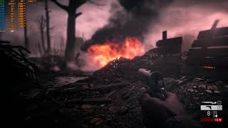 Battlefield 1 with fps counter, medium settings,i7-3770, gtx960 2gb, 8gb ram(PC)[HD](PL)