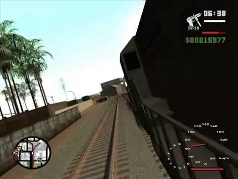 GTA SA RAILWAY TRACK CHANGE