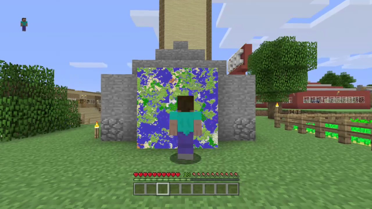 how to add maps to minecraft