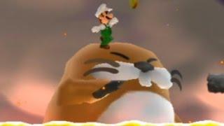 MLG Super Luigi Bros Wii - Part 1 - Stupid Death Galore
