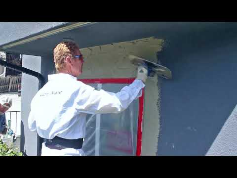 Rapid Set Stucco Patch And Paint The Same Day, Same Day Plastering And Painting With This Stucco