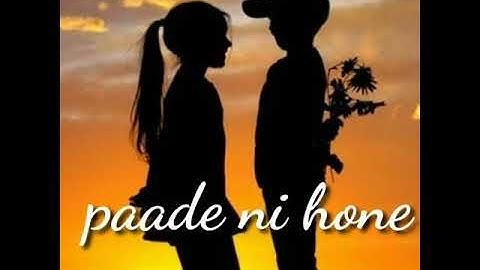 Kitte kalli song whatsapp status by whatsapp status