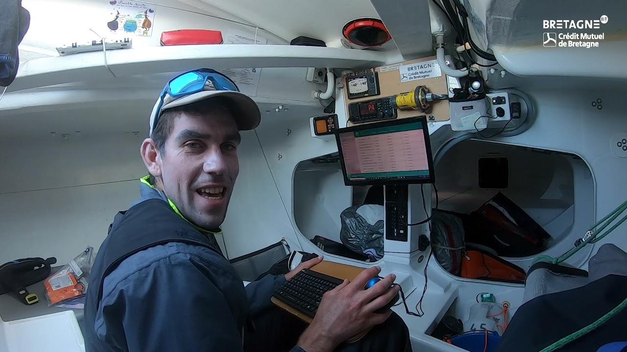 Les skippers Bretagne-CMB ces amateurs de bonnes musiques...