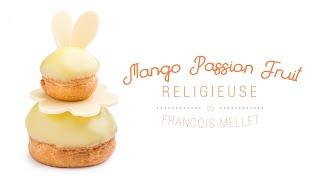 Mango Passion Fruit Religieuse Recipe (Cream Puff) - Qzina