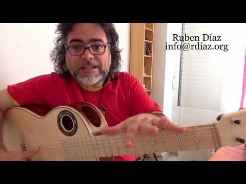 Thumb in modern flamenco guitar /Learning Paco de Lucia´s technique / Ruben Diaz