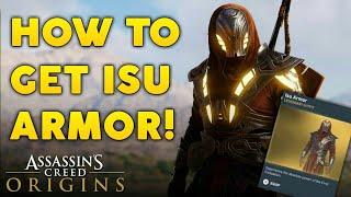 Assassin's Creed Origins - How To Get SECRET Isu Armor! (Great Sphinx Puzzle)